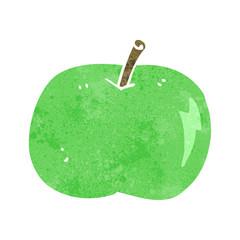 cartoon shiny apple