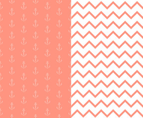 background with anchors