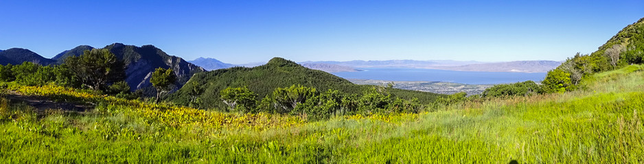 View of Utah Lake, Utah 2015-09-25