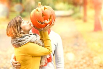 Kiss the Pumpkin