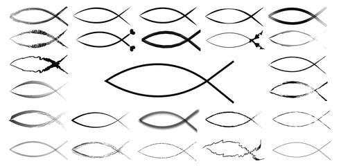 Ichthys Jesus fish sign