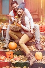 gemeinsam Halloween Feiern