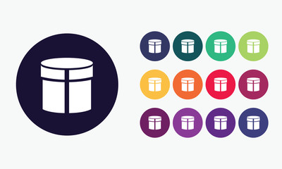 Box. Collection vector set 4