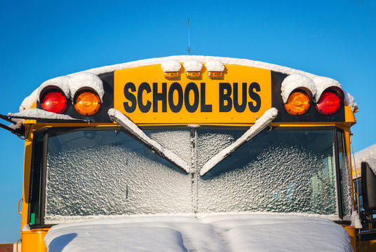 Winter School  Bus