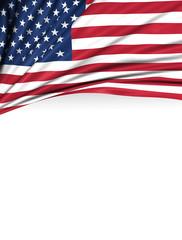 USA Flag, American Background, United States of America