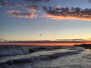 Atlantic Ocean in New York City, USA