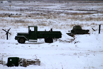 "Military truck GAZ-AA ""lorry"""