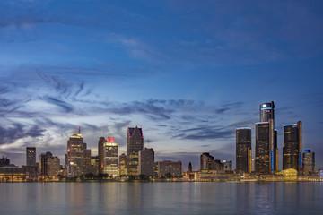 Detroit Skyline 2015
