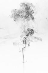 abstract black smoke