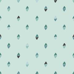 Simple seamless pattern. Pastel green.