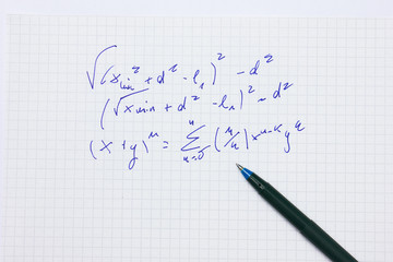 Math Handwritten Problem