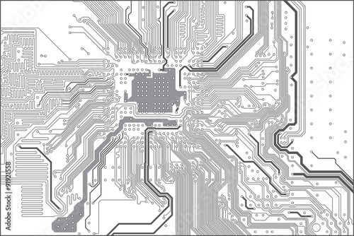 Printed circuit board (PCB) trace layout\