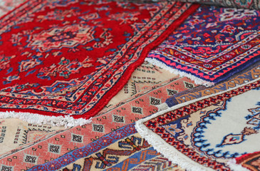 carpets of fine manufacturing for sale in luxury store