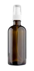 Blank medical bottle isolated