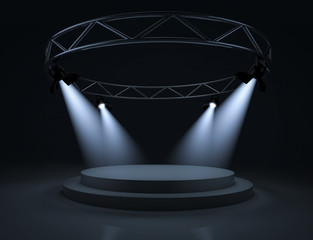 Spot light stage