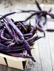 Purple Wax Beans