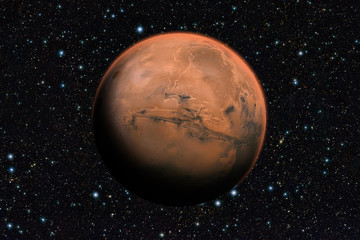 Mars planet beyond our solar system.