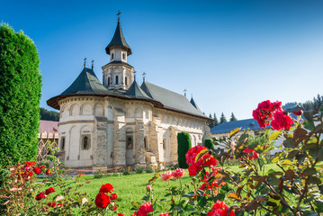 Putna Monastery,in Bucovina, built by Voievod and Saint Stephen the Great