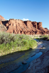 "Paria River in the ""Arizona Strip"" near the Colorado River and Utah-Arizona border"
