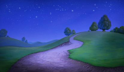 Beautiful hill