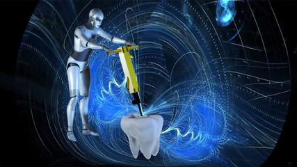 Zahnbehandlung auf die andere Art