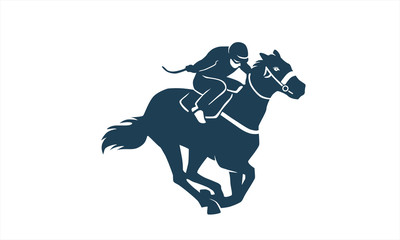 sport horse running fast