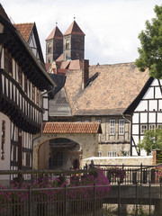 Quedlinburger Stadtansicht