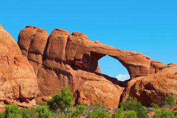 Skyline Arch in Arches National Park near Moab, Utah