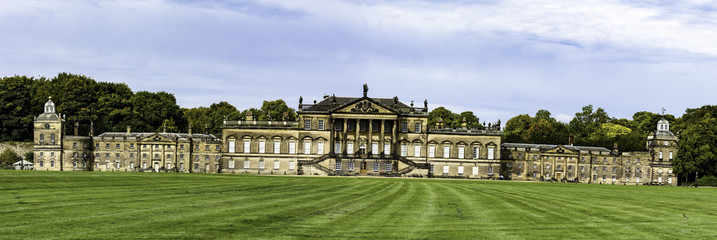 Panorama of Wentworth Woodhouse estate, Rotherham