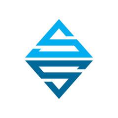 Emerald SS Initial Logo