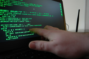 Hacker Stealing Wi-Fi