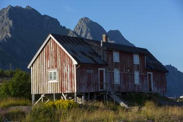 altes Fischerhaus, Fischerhütte auf den Lofoten