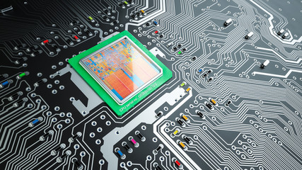 Printed circuit board and CPU