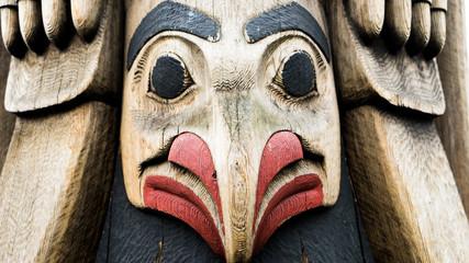 Seattle Totem Wall mural