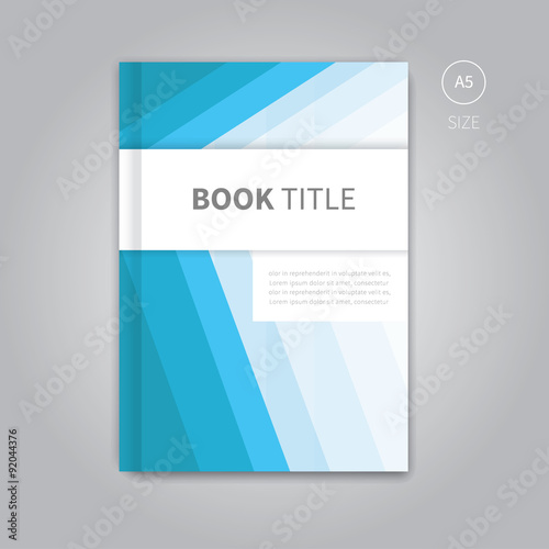 Book Cover Illustration Search ~ Quot vector book cover template design brochure background