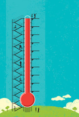 Thermometer Fund Raiser