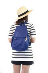 Asia girl and her fashion bag