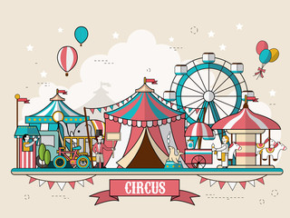circus facilities scenery