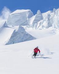 Wall Mural - grandiose Kulisse zum Skifahren