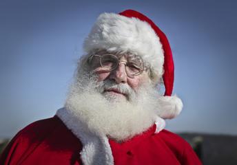 Portrait of Santa