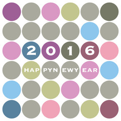 New Year Card Background Design