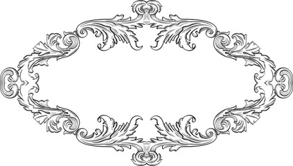 Orient acanthus good frame