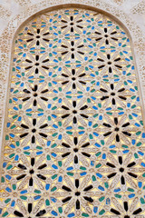 in morocco africa old tile and