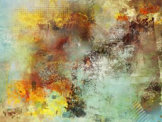 abstrakt texturen herbsttöne