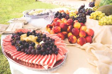 Buffet di frutta fresca