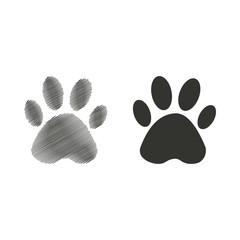 Paw  icon.