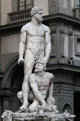 Statue d'Hercule sur la Piazza della Signoria