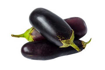 Three eggplant.