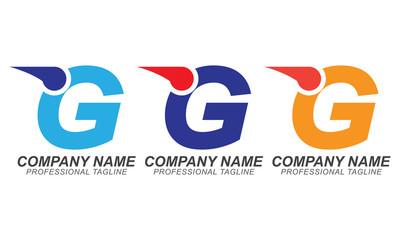 G Speed Font - Logo Business Concept Design Elements