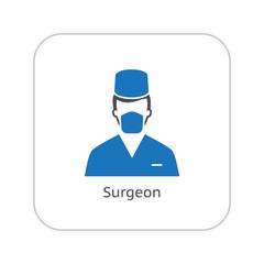 Susgeon Icon. Flat Design.